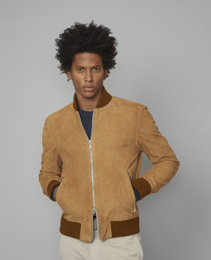 Bomber Todd | cuir